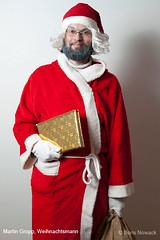 Martin Gropp als Weihnachtsmann