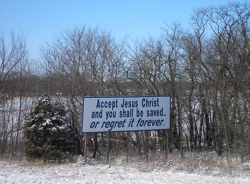 Billboard on I-35 near Emporia, KS