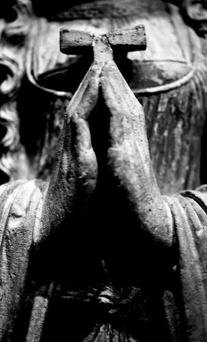Museum — Medieval Statue. (Kodak Tri-X. Nikon F100. Epson V500.)
