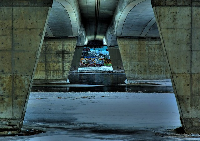Day 28: Under the Bridge, Trip Trapping