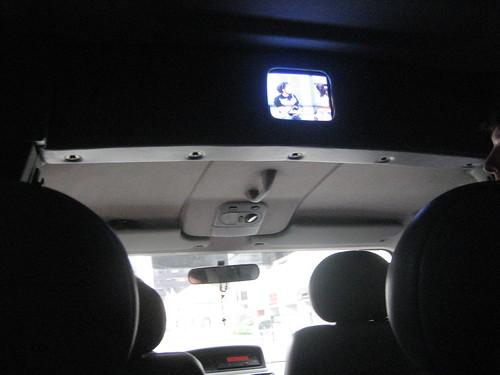 live TV in the van
