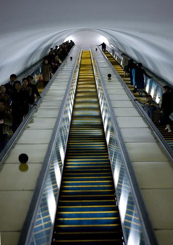 Pyongyang subway - North Korea