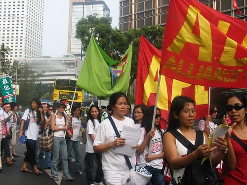 OFWs in Hong Kong