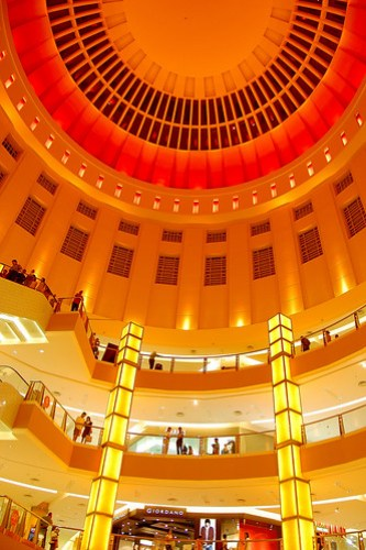 Atrium in A Shopping Mall, KL by friend_faraway - ( In Pakistan Now!).