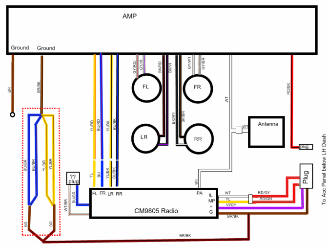 1984 bmw e30 radio wiring diagrams  description wiring