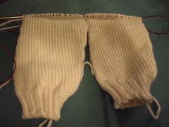Yoke sweater sleeves