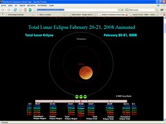 Eclipse lunar - luna roja