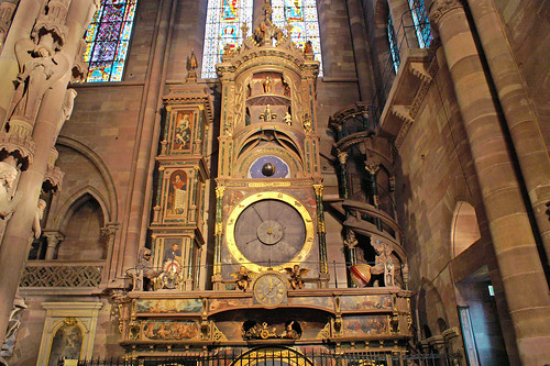 Astronomical Clock from Strasburg