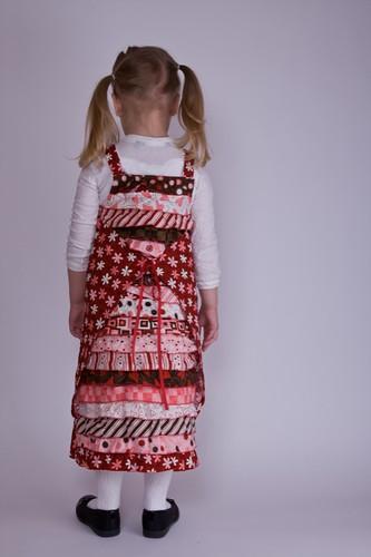 Valentine Dress - Back