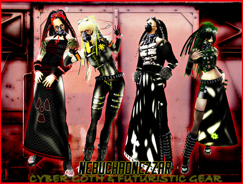 Nebuchadnezzar - NDN - Cybergoth, Punk, Psychobilly Gear