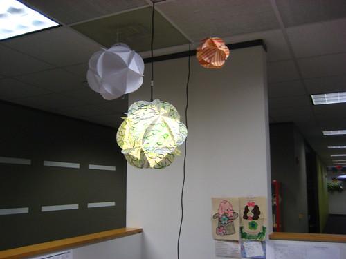 Homemade Paper Globes
