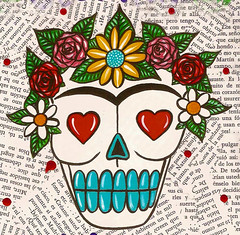 Candy Frida Skull