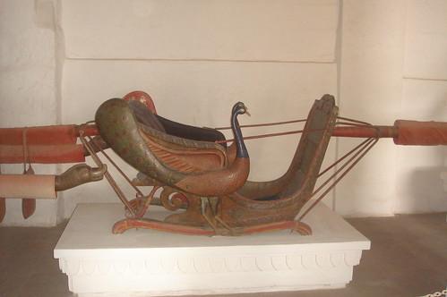 Meherangarh Fort 1-65國王轎椅