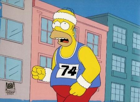Homer Running Home