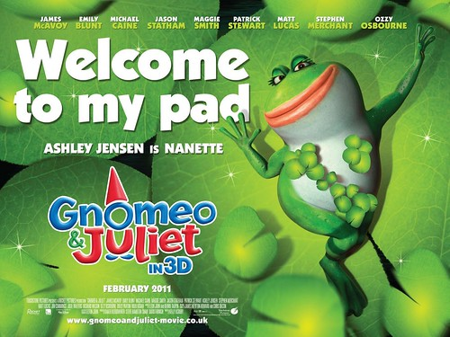 Gnomeo and Juliet Frog