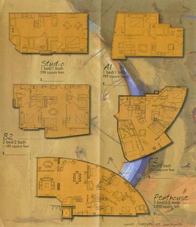 Aspire floorplans