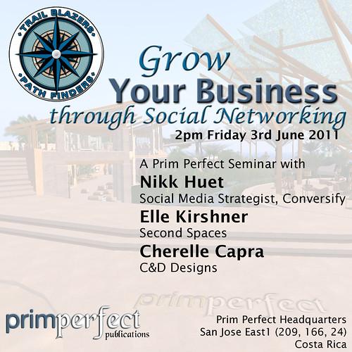 Prim Perfect's Social Networking Seminar