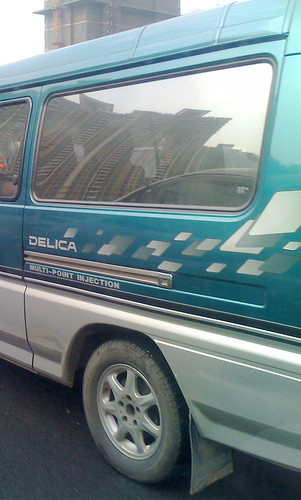 Delica Van in China