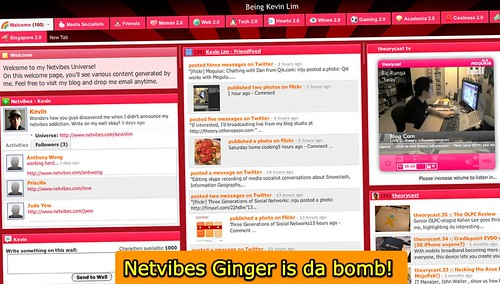 Netvibes (Ginger) makes sharing my blog reads easy!