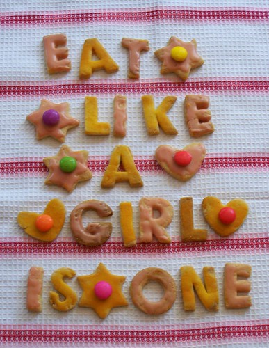 eat like a girl is one
