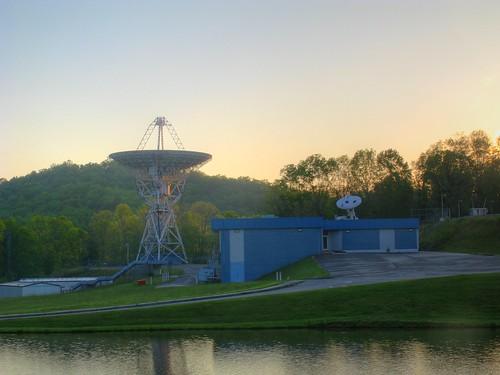 Radio Telescope in HDR