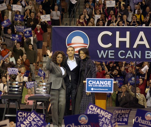 Oprah & Obama event, NH, 12/9/07