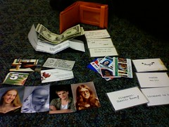 Wallet, contents