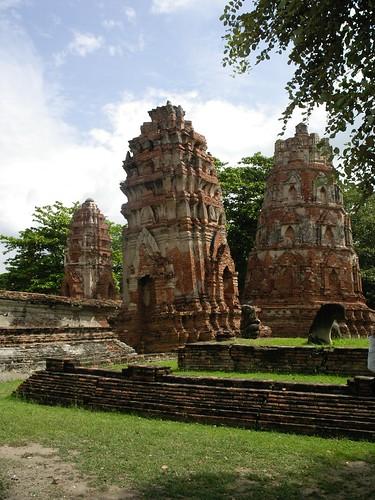 Leaning Tower at Ayutthaya
