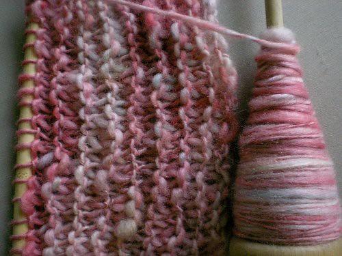 hand-dyed handspun yarn