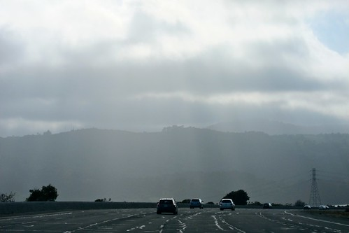 Highway 280 near Half Moon Bay CA