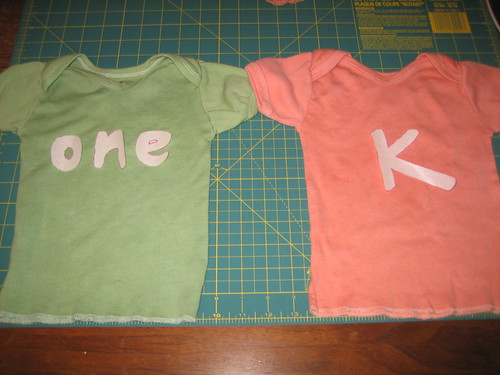 Shirts Ready for their Applique's