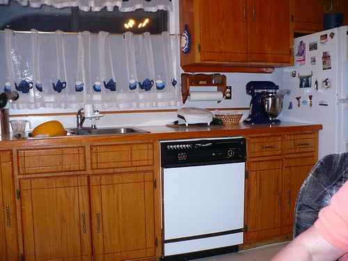 Judy's Kitchen in the Middle of My Cooking