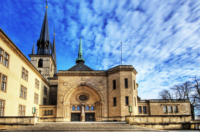 Luxembourg Cathedrale Notre-Dame