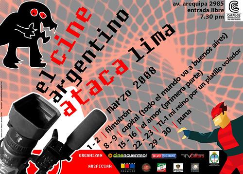 Muestra de Cine Argentino - El cine argentino ataca Lima