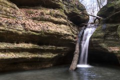 Kaskaskia Canyon Falls