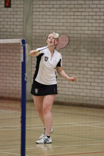 Womens Badminton, 14/05/2011, Photo: Justyn Hardcastle