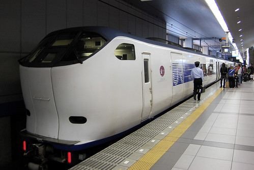 281 series Haruka at Kansai Airport