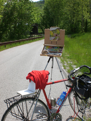 LeeCreekCoveredBridgePleinAir