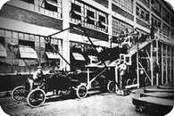 Cadena de montaje del Ford T.
