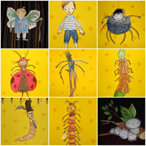 James & The Giant Peach Characters