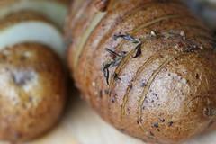 Hedgehog Potatoes with WG Mustard Vinaigrette 3