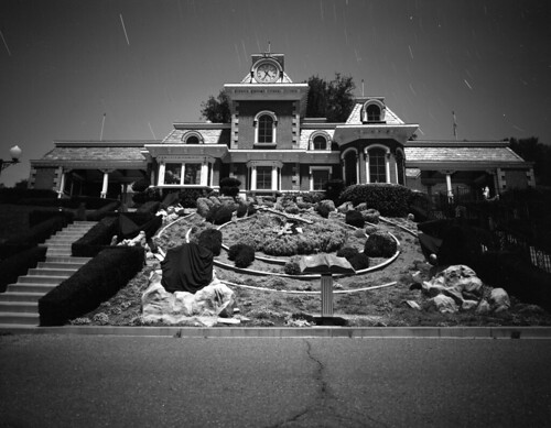 The Train Station on Neverland Ranch