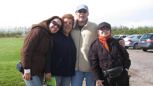 Periodistas venezolanos: Melina Bertocchi, Ileana Matos, Vladimir Viloria y Jacqueline Goldberg