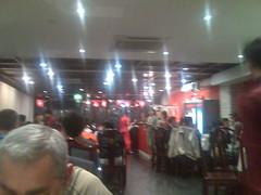 Restaurant crowd
