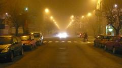 Schaerbeek dans le brouillard