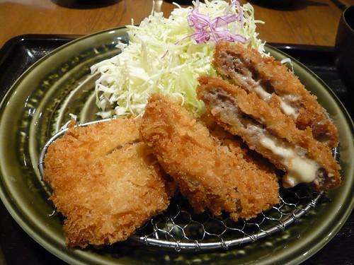 Hire Katsu cheese (sazanka) set