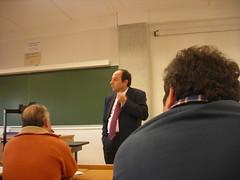Rafael Payá reunido con el PAS en la ETSIIT