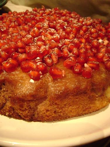 Pomegranate Jewel Cake