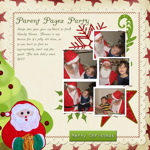 Parent Pages Santa