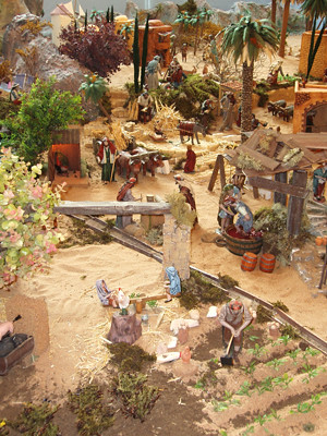 part of a nativity scene in La Orotava
